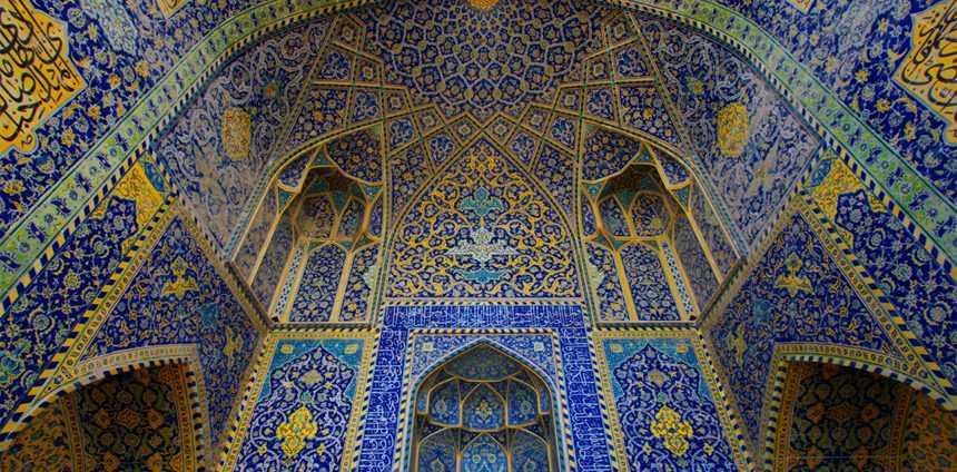 Coupole bleue à Samarcande en Ouzbékistan, Moyen Orient, Asie Centrale