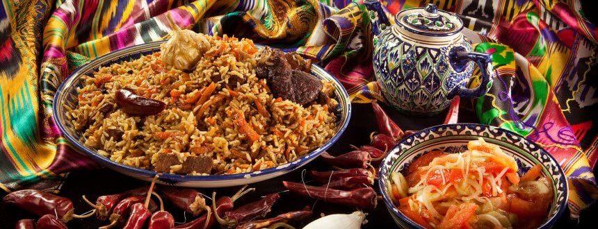 Pilaf / Cuisine traditionnelle Ouzbékistan