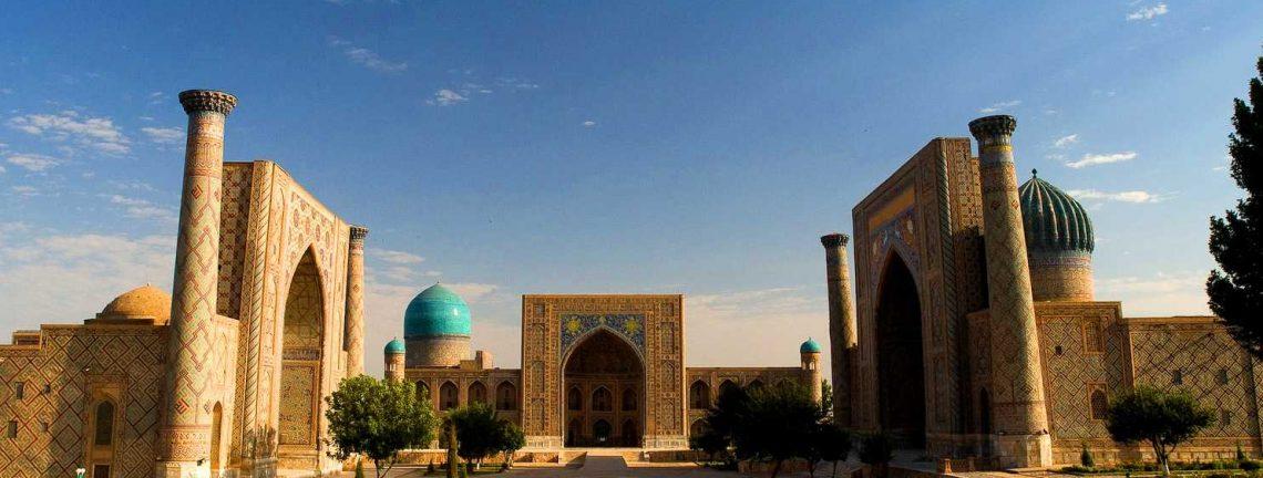 Architecture / Patrimoine architectural et culturel en Ouzbékistan / Route de la Soie / Asie Centrale