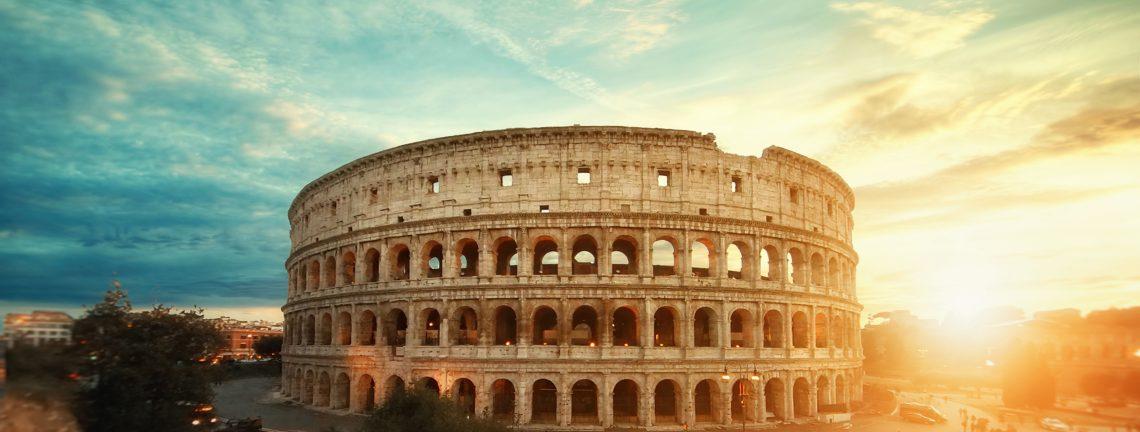 Le Colissée à Rome, Italie