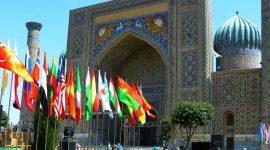 Mosquée en Ouzbékistan