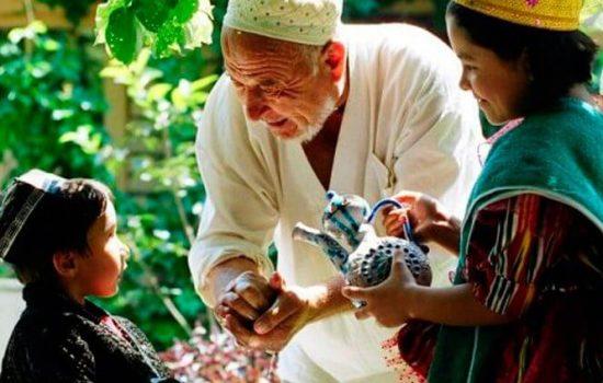 Famille en Ouzbékistan