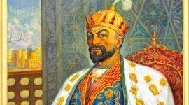Personnage historique en Ouzbékistan