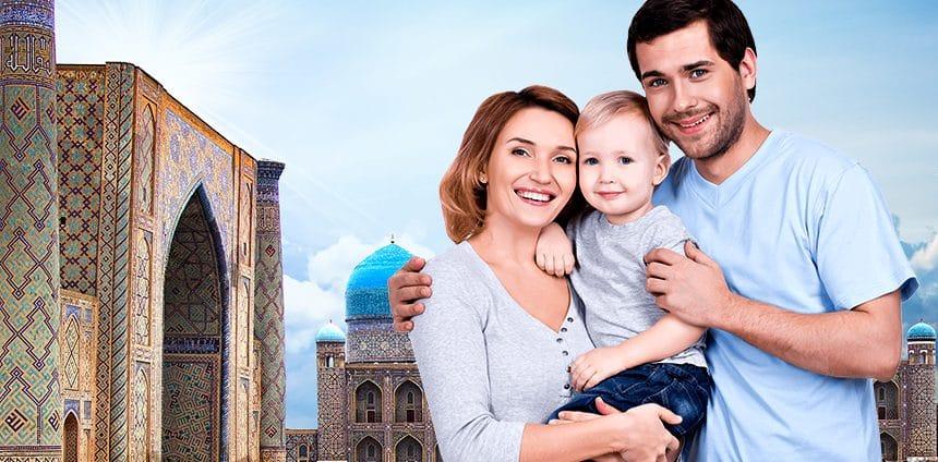 Voyage en famille en Ouzbékistan