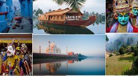 Collage de photos Inde