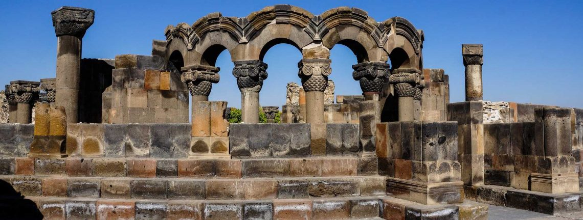 Zvartnots en Arménie