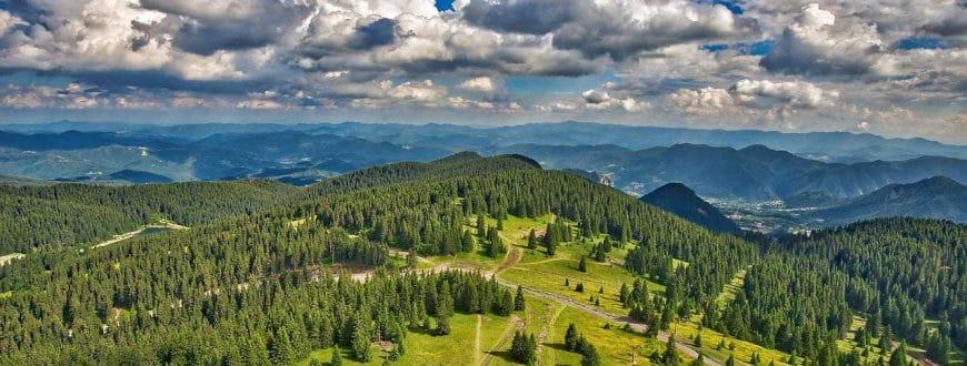 Paysage en Bulgarie