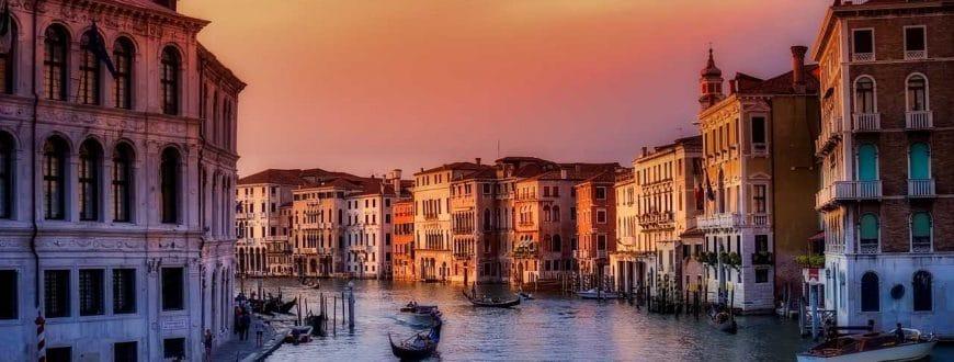 Venice au coucher du soleil
