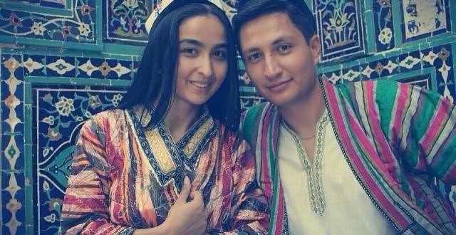 Couple en Ouzbékistan, Asie Centrale
