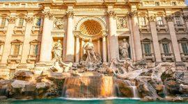 Fontana di Trevi Rome Italie