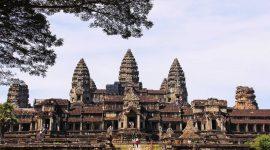 Le temple Angkor Wat à Siem Reap au Cambodge, patrimoine culturel, Asie