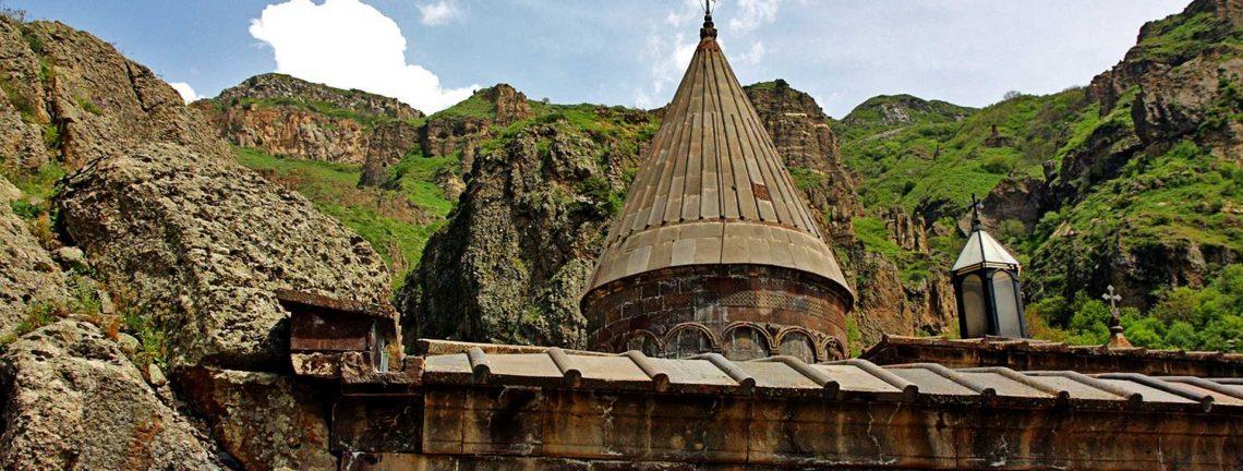 le monastère de Geghard, Arménie, Armenia, patrimoine culturel, Caucase