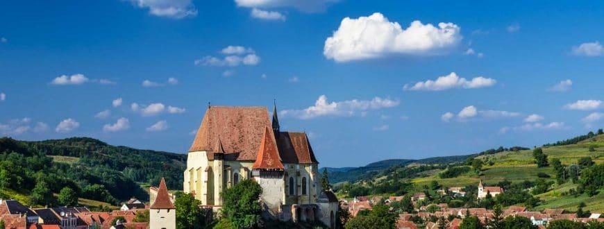 L'église fortifiée de Biertan en Transylvanie Roumanie