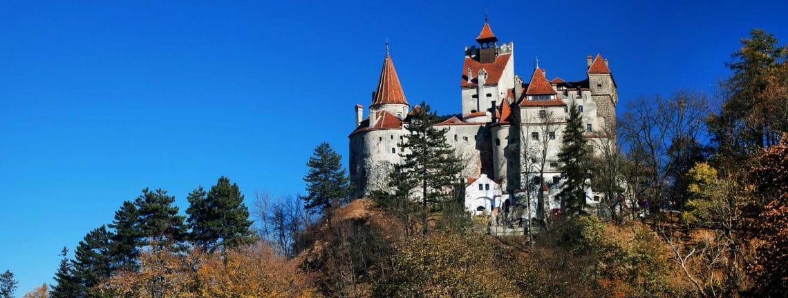 Le château de Dracula à Bran, Transylvanie, Roumanie, patrimoine culturel