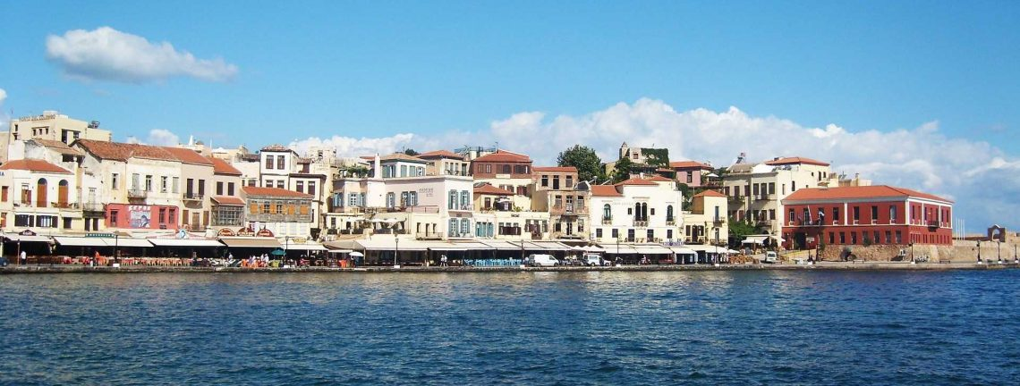 La ville de Réthymnon, Crète, Grèce