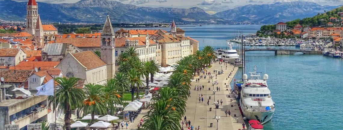 La côte dalmate en Croatie