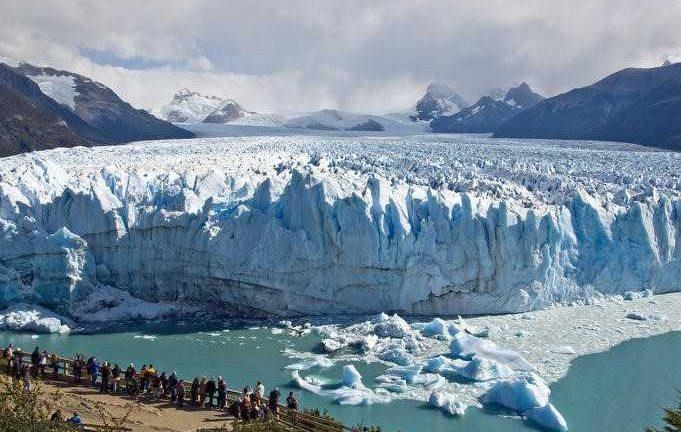 Glacier, Paysage en Patagonie, Argentine