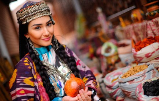 Femme ouzbèke