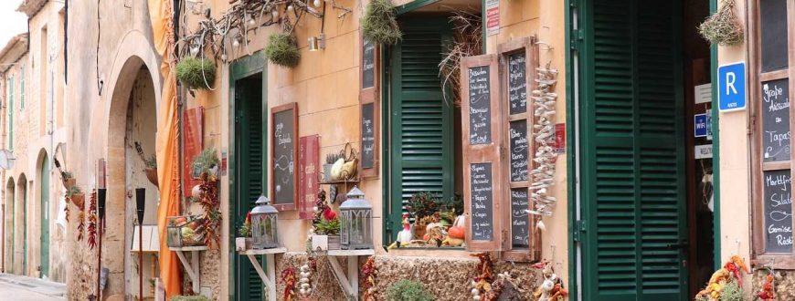Boutique sur ruelle à Mallorca en Espagne