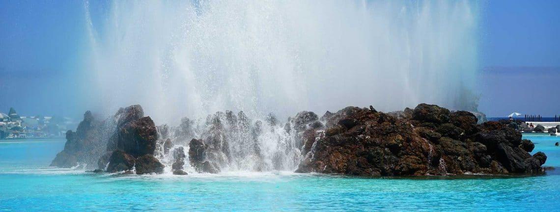 Fontaines au Ténérife et Lanzarote