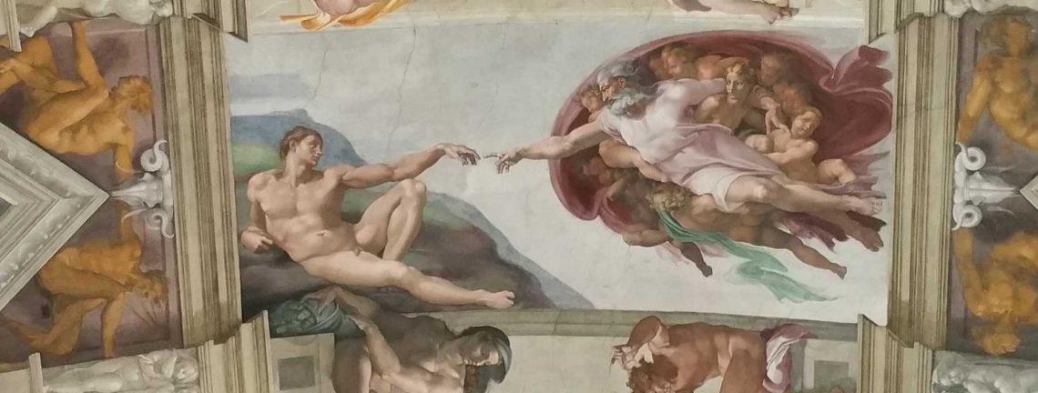 Michel-Ange – Plafond de la chapelle Sixtine Musées du Vatican, Italie