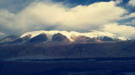 Vue sur les montagnes de Pamir en Tadjikistan